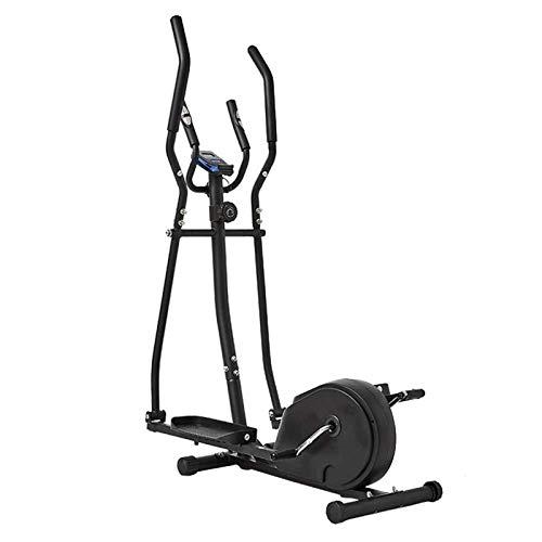 Auoeer Cross Trainer Machine elliptique Cross Entraîneur 2 en 1 Exercice Vélo Vélo Cardio Fitness Home Gym Equipmen Cardio-Cardio Workout 156x80x47cm