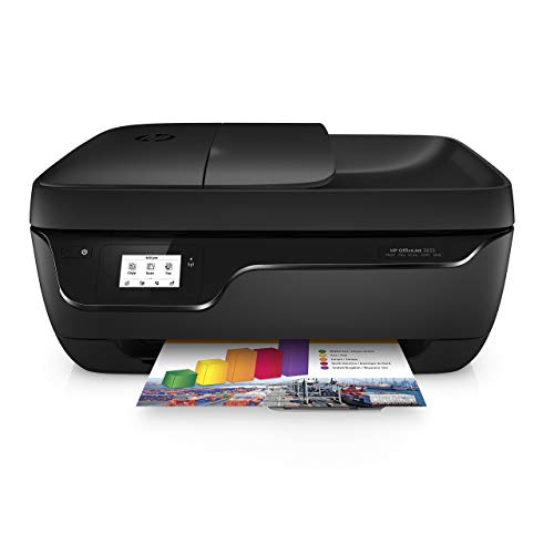 HP OfficeJet 3833 Stampante Multifunzione a Getto di Inchiostro, Stampa, Scannerizza, Fotocopia, Fax, Wi-Fi Direct, 2...