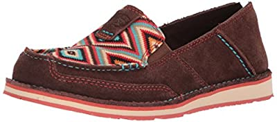 Fabric, hair on, and/or suede upper Side stretch elastic panels, slip-on silhouette EVA midsole Duratread outsole