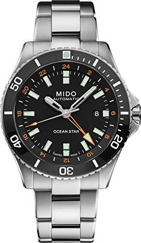 Mido Taucheruhr Automatik Ocean Star GMT Schwarz M026.629.11.051.01