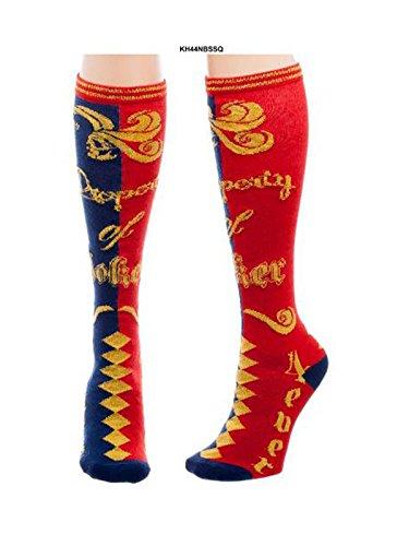 CID Harley Quinn - Property of The Joker Knee High Socks Calzini