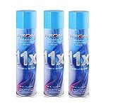 3 Cans Neon 11X Butane Refill Fuel Fluid Lighter Ultra Refined 11 Times 10.14 Oz