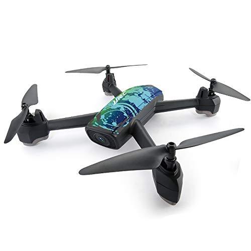 H55 a Quattro Assi di Posizionamento GPS Controllo Dual Mode Drone 720 p videocamera HD WiFi in Tempo Reale Trasmissione a Distanza Fissa velivoli di Controllo remoto,Blue