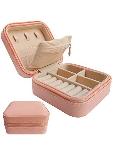 HerFav Petite Boîte à Bijoux de Voyage pour Femmes