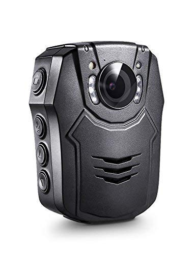 BOBLOV PD50 Body Camera 64GB 1296P Body Worn Mounted Camera Lightweight Smart Fast Charging Night Vision Cam 150 Degree Angle Playback 5-7Hours Recording (64G)