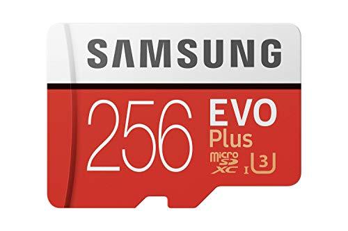 Samsung EVO Plus 256GB microSDXC UHS-I U3 100MB/s Full HD & 4K UHD...