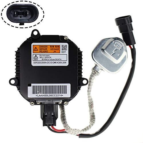 MOTOALL HID Xenon Headlight Ballast Control Unit Module with Igniter for D2R D2S Bulb Nissan Infiniti Mazda Saab 28474-89904 28474-89907 28474-8991A 28474-89915 Matsushita NZMNS111LANA NZMNS111LBNA