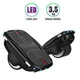 COZYSWAN Hovershoes Electric Roller Skating ShoesSelf Balancing Hoverboard 2 in 1 with Led Lights Hovershoes for Kids and Adults