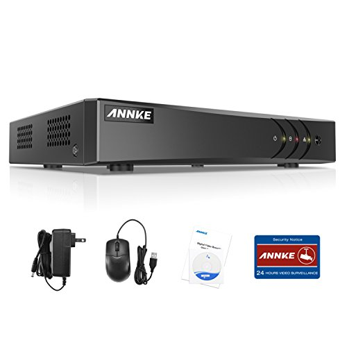 ANNKE TVI 1080P Lite 4 Canali Network Digital Video Recorder Video Sorveglianza Videoregistratore CCTV DVR/HVR/NVR Sicurezza di Sistema P2P Email Allarme 3 Snapshot Manuale Italiano senza HDD