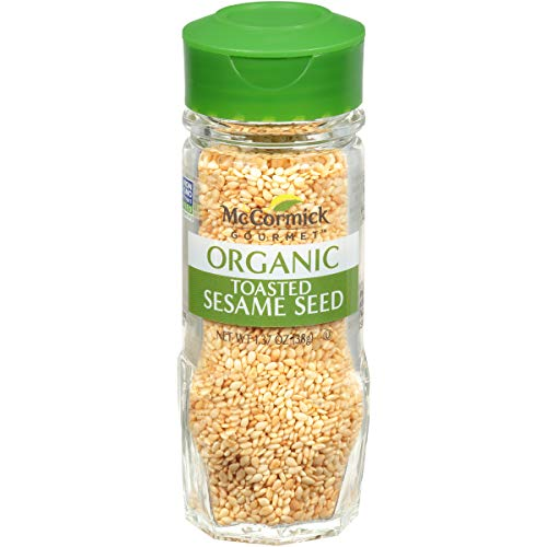 McCormick Gourmet Organic Toasted Sesame Seed, 1.37 oz