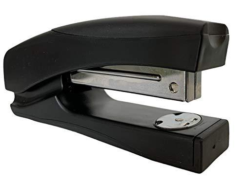 Cucitrice da ufficio con 20 fogli di capacit utilizzare punti 22/6-24/6 mm cucitrice senza graffette (nero)