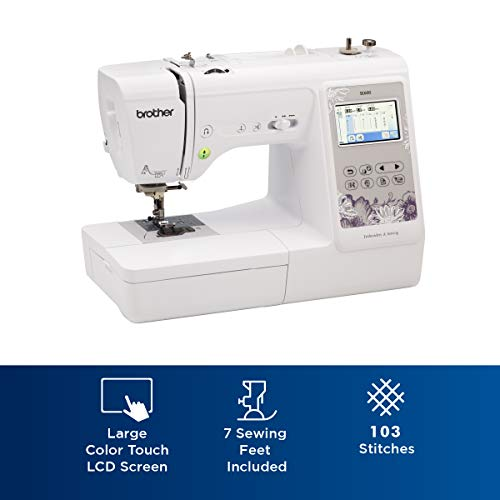 Product Image 1: Brother SE600 Sewing and Embroidery Machine