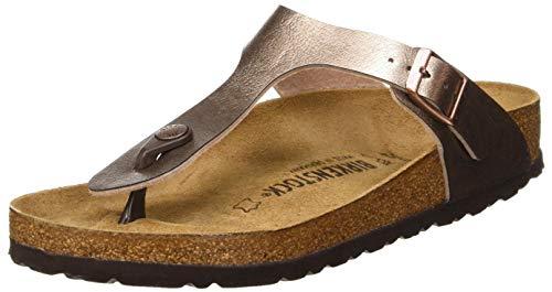 BIRKENSTOCK Women's Flip Flop Sandals Mule, Graceful Taupe, 8 us