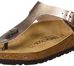 Birkenstock Women's Flip Flop Sandals Mule, Graceful Taupe