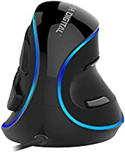 J-Tech Digital Wired Ergonomic Vertical USB Mouse with Adjustable Sensitivity..