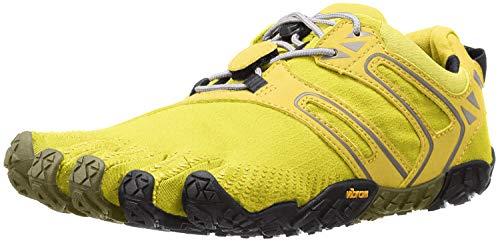 Vibram FiveFingers Damen V-Trail Traillaufschuhe, Gelb (Yellow/Black), 39 EU