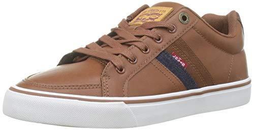Levi's Turner, Zapatillas para Hombre, Marrón (Brown 28), 43 EU