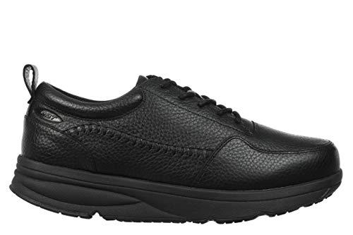 MBT Jumba Lace Up M Nubuk - Zapatos de tacón para hombre, color Negro, talla 44 EU