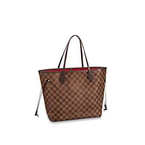 Louis Vuitton Neverfull MM Damier Ebene Bags Handbags Purse 24