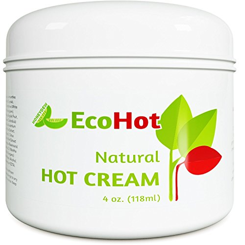 Natural Skin Tightening Cream - Anti Aging Body Treatment for Women + Men - Anti Cellulite Stretchmark + Scar Remover - Muscle Pain Relief - Antioxidant Hot Cream Gel Moisturizer For Dry + Saggy Skin 1