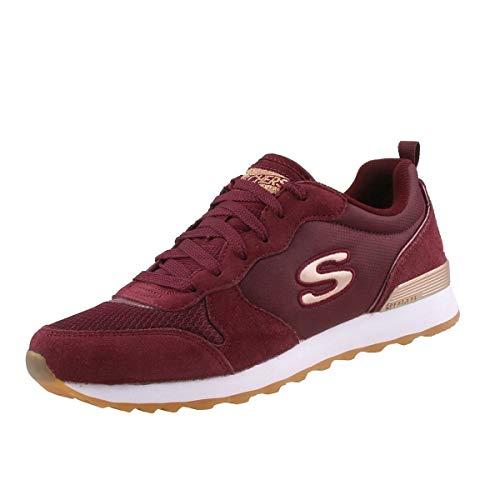 Skechers OG 85-Goldn Gurl - Zapatillas deportivas, color Rojo, talla 36 EU