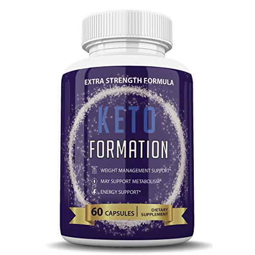 Keto Formation Extra Strength Formuila - Energy - Weight Management and Metabolism Support - 6o Capsules - 1 Month Supply 1