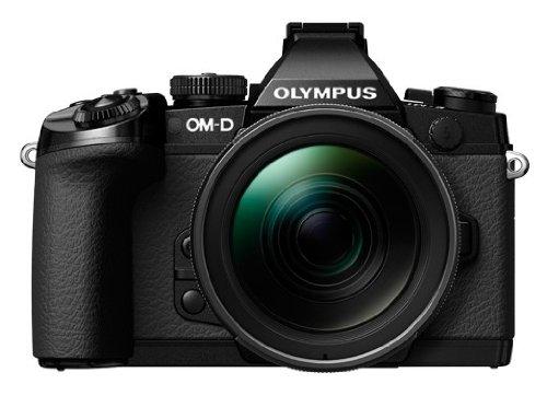 OLYMPUS ミラーレス一眼 OM-D M1 12-40mm F2.8 レンズキット ブラック 防塵 防滴 OM-D E-M1 12-40mmF2.8LKIT