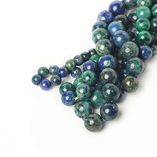 8mm Phoenix Lapis Lazuli Malachite Round Loose Beads for...