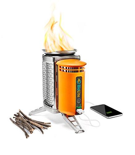 BioLite CampStove 1 Wood Burning and USB Charging Camping...