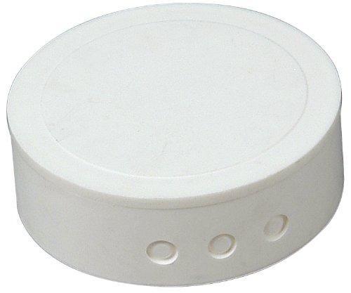 Kopp 341817082 Kunststoff-Abzweig-Baldachin, weiß