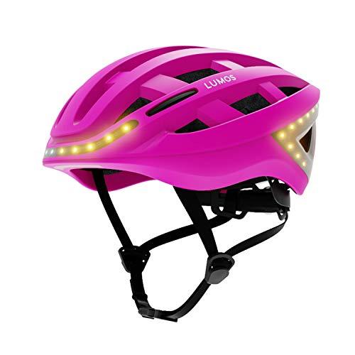 Lumos Smart Bike Helmet with Wireless Turn Signal Handlebar Remote & Built-In Motion Sensor