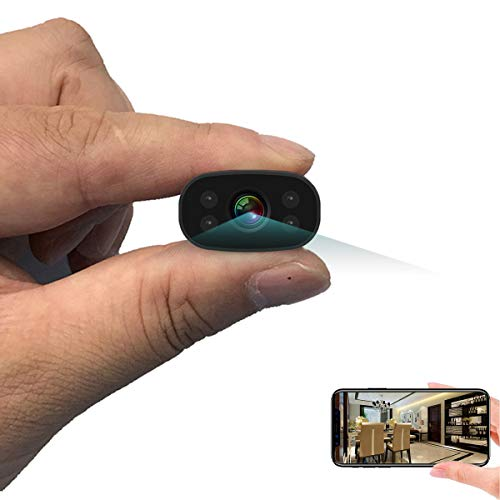 Videocamere di sorveglianza PNZEO W3 Mini telecamera Senza fili Wi-Fi spī spiare nascosto macchina fotografica, HD 1080P wifi ip p2p Motion Detection Senza fili Videoregistratorevisione notturna