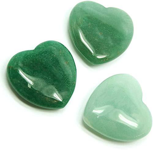 Luos Cultural Goods Green Aventurine Heart Shape Crystal -...