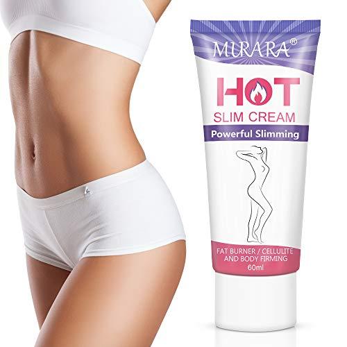 Hot Cream Cellulite Treatment, Belly Fat Burner for Women & Women,Anti-Cellulite Workout Sweat Cream for Waist,Abdomen,Thight and Buttocks,Weight Loss Firming Cream,2 Fl Oz 4