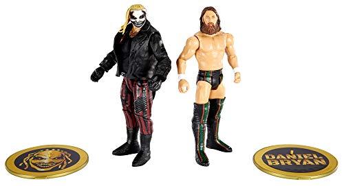 WWE GVJ17 - Action Figuren 2er-Pack (15 cm) The Fiend Bray Wyatt vs Daniel Bryan, Geschenk zum Sammeln für WWE Fans ab 6 Jahren