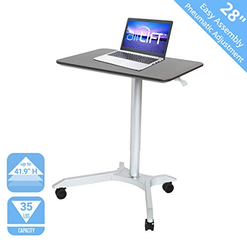 "5. Seville Classics AIRLIFT XL 28"" Height Adjustable Sit-Stand"