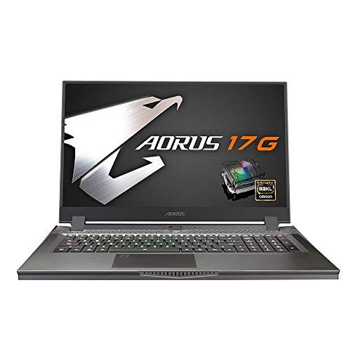 """GIGABYTE - Ordenador portátil de 17"""" con Teclado mecánico RGB – AORUS 17G KB-7FR1130MH"""