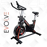 WOOL FELT RESISTANCE - The precision-balanced flywheel combined with the Wool Felt mechanism allows for smooth and quiet workouts. FEATURES - Wool Felt Resistance, 18 Kg Fly Wheel, 8 Level of Magnetic Resistance, CageShape Pedals with adjustable Stra...