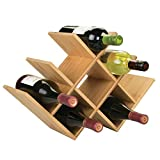 mDesign Range Bouteille pour vin – Joli casier à Bouteille en...