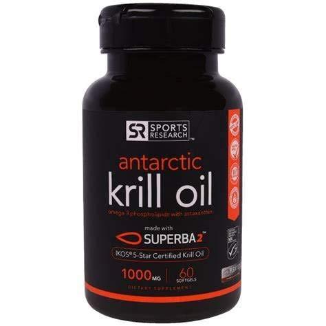Óleo Krill Antártico 1000 Mg 60 Softgéis Oil