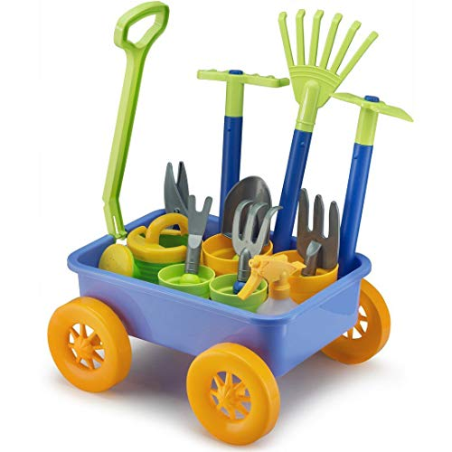 Liberty Imports Garden Wagon & Tools