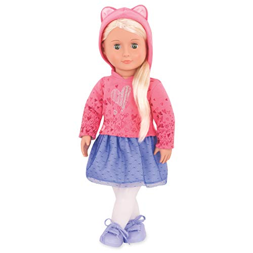 Our Generation by Battat- Elizabeth Ann Non-Posable 18' Blonde Fashion Doll- for Girls 3 Years & Up