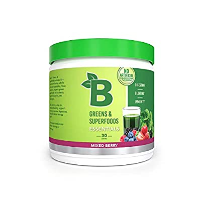 Say Goodbye to Bloat - Our blend of probiotics restores the balance to your gut, eliminating the toxins that cause you to feel bloated. A scoop of our greens provides quick bloating relief and reduces gut inflammation. All Natural Ingredients - Our n...