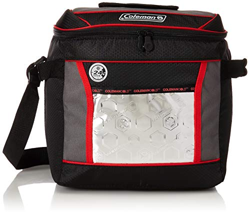 Coleman 24 Hour 30 Can Cooler, Red