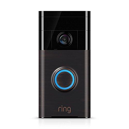 Ring Video Doorbell (1st Gen)  HD video, motion activated alerts, easy installation  Venetian Bronze
