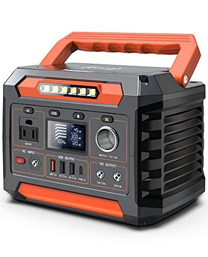 Progeny 300W Portable Power Station, 299Wh/80818mAh Solar Generator with 12V