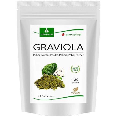 MoriVeda® - Graviola en polvo Extracto de 360g 4:1 polvo de