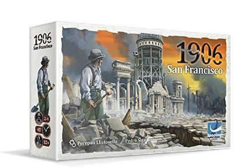 Looping Games-1906. San Francisco, Multicolor (LOG1906SF01)