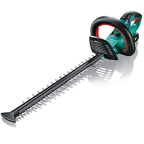 Bosch Taille-Haie sans Fil AHS 50-20 LI (1 Batterie, Système 18 volts, Longueur de Coupe 50 cm, Distance du Couteau 20 mm, dans une Boîte)