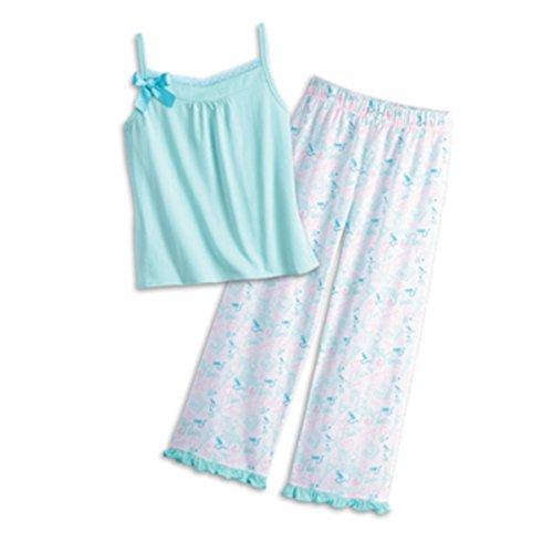 American Girl Grace Graces Pajamas Large 14/16 Pale Blue